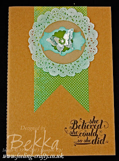 Epic Day / Feel Goods Notebook for her team by Stampin' Up! Demonstrator Bekka Prideaux