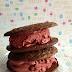 Sandwich à la glace Red velvet