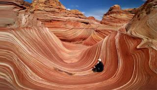 Una ola en el desierto de Arizona