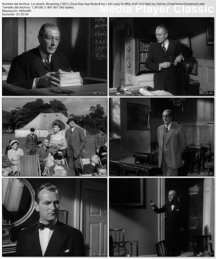 Imágenes de la peli:  La versión Browning | 1951 | The Browning Version