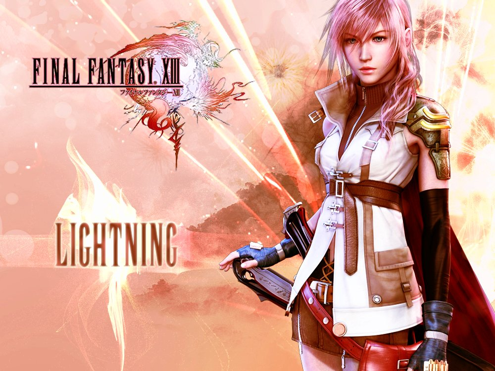 Video game gallery wallpaper avatars more final fantasy 13 square enix role playing game voltagebd Choice Image