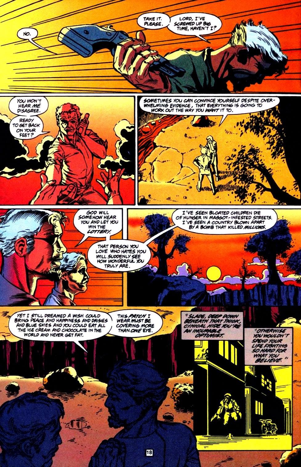 Deathstroke (1991) Issue #35 #40 - English 19