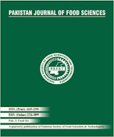 Pakistan Journal of Food Sciences