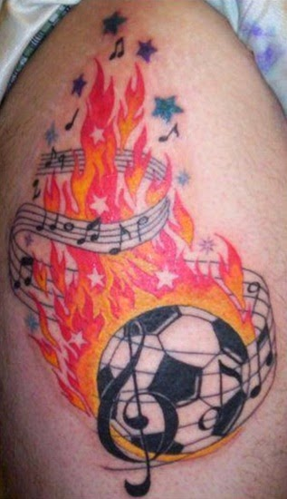 Top 5 Football Tattoo Designs