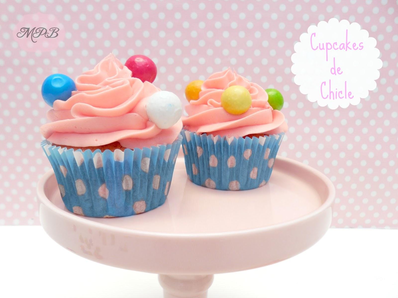 Cupcakes de Chicle