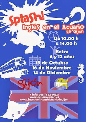 Asturias con niños, a dónde vamos hoy? Akl Acuario a aprender inglés