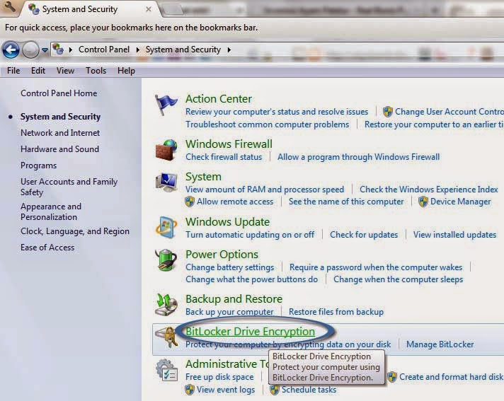 Cara mudah memberi password pada flashdisk