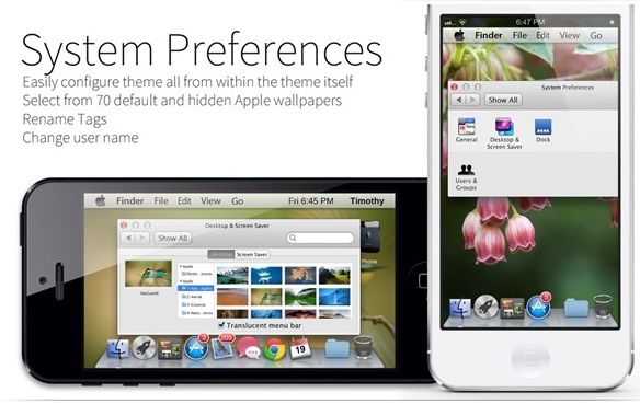 Mavericks Mini System Preferences