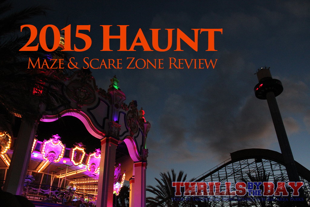 Thrills by the Bay: 2015 California's Great America Halloween ...