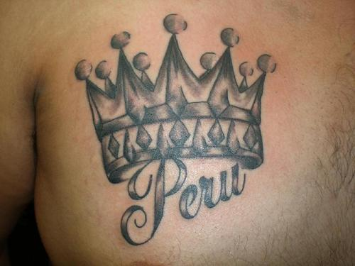 crown tattoos for menKing Crown Tattoos With Names