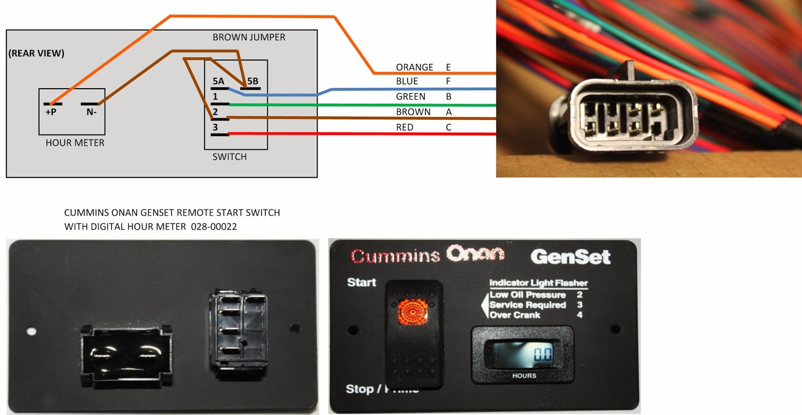 how to wire onan generator wiring diagram data Remote Starter Switch Connection