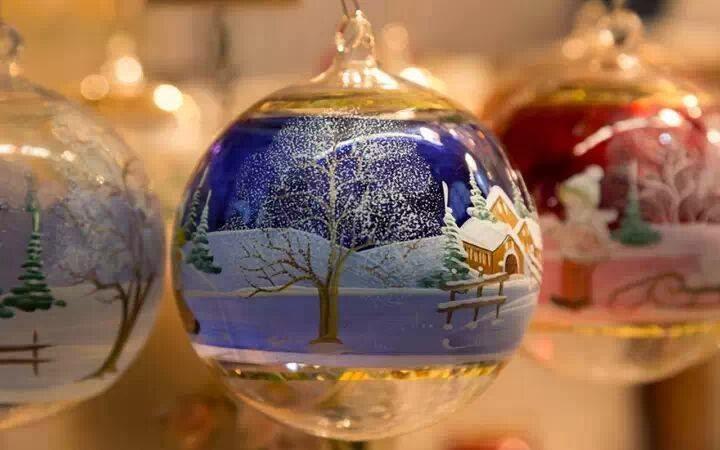 Weihnachtsbaum Kugel Bild
