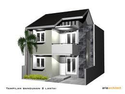contoh arsitek denah rumah