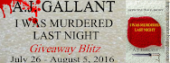 I Was Murdered Last Night Giveaway Blitz