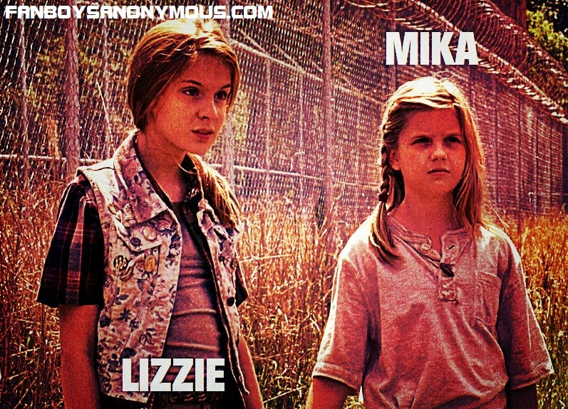 AMC's The Walking Dead Lizzie and Mika are comic series' Ben and Billy