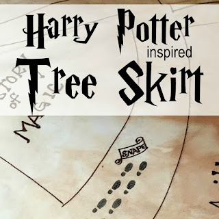 Harry Potter Tree Skirt