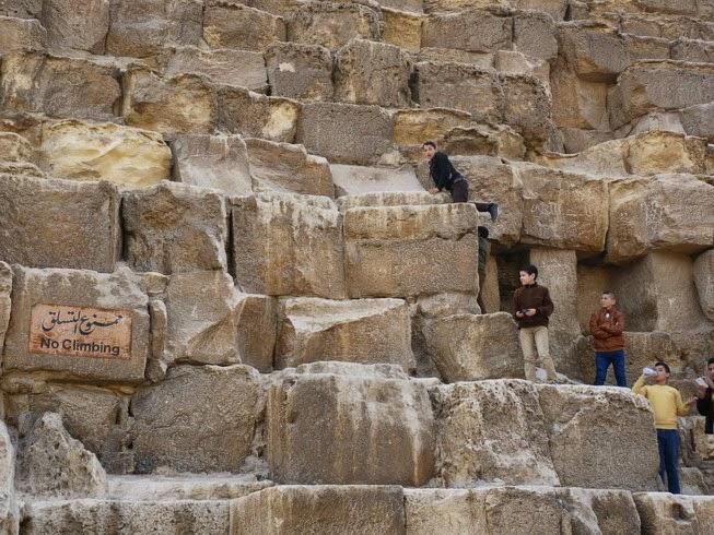 Prohibido escalar.