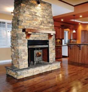 Fotos de chimeneas tipos de calefaccion - Chimeneas de doble cara ...