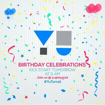 YU will celebrate anniversary on 13th January, celebration starts today - #YUTurns1