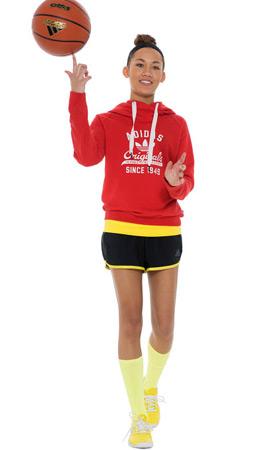 Adidas All in for my girls sudaderas deportivas pantalones cortos mujer