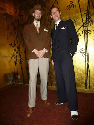 vintage 30's suits