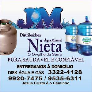 JM- DISTRIBUIDORA DE ÁGUA MINERAL E GÁS