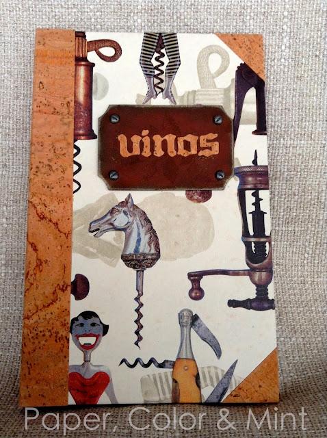 Encuadernación Libro de vinos 3