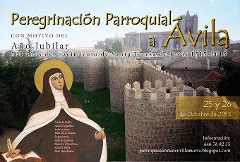 Peregrinación Parroquial a Ävila, 25 y 26 de Octubre