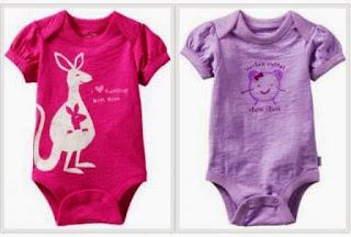 Contoh Baju Bayi Lucu Baru Lahir