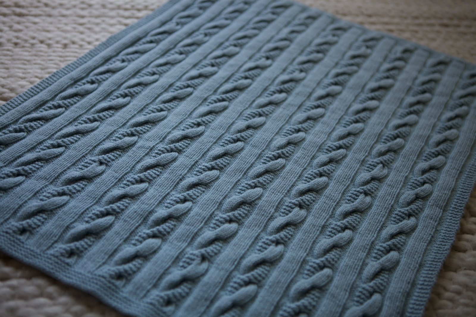 Baby Blanket Knitting Patterns Debbie Bliss : Posh Knits: July 2011