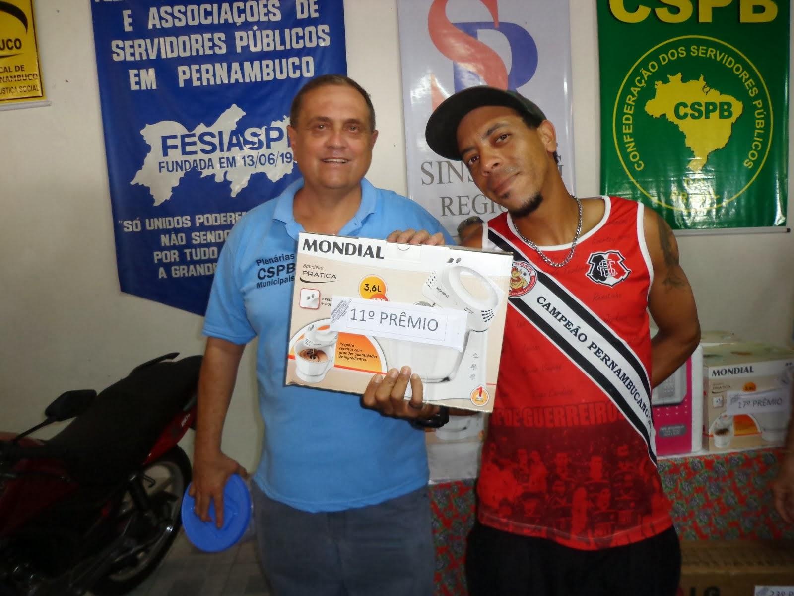 GANHADOR 11º PRÊMIO FESTA DO SERVIDO EM 2013