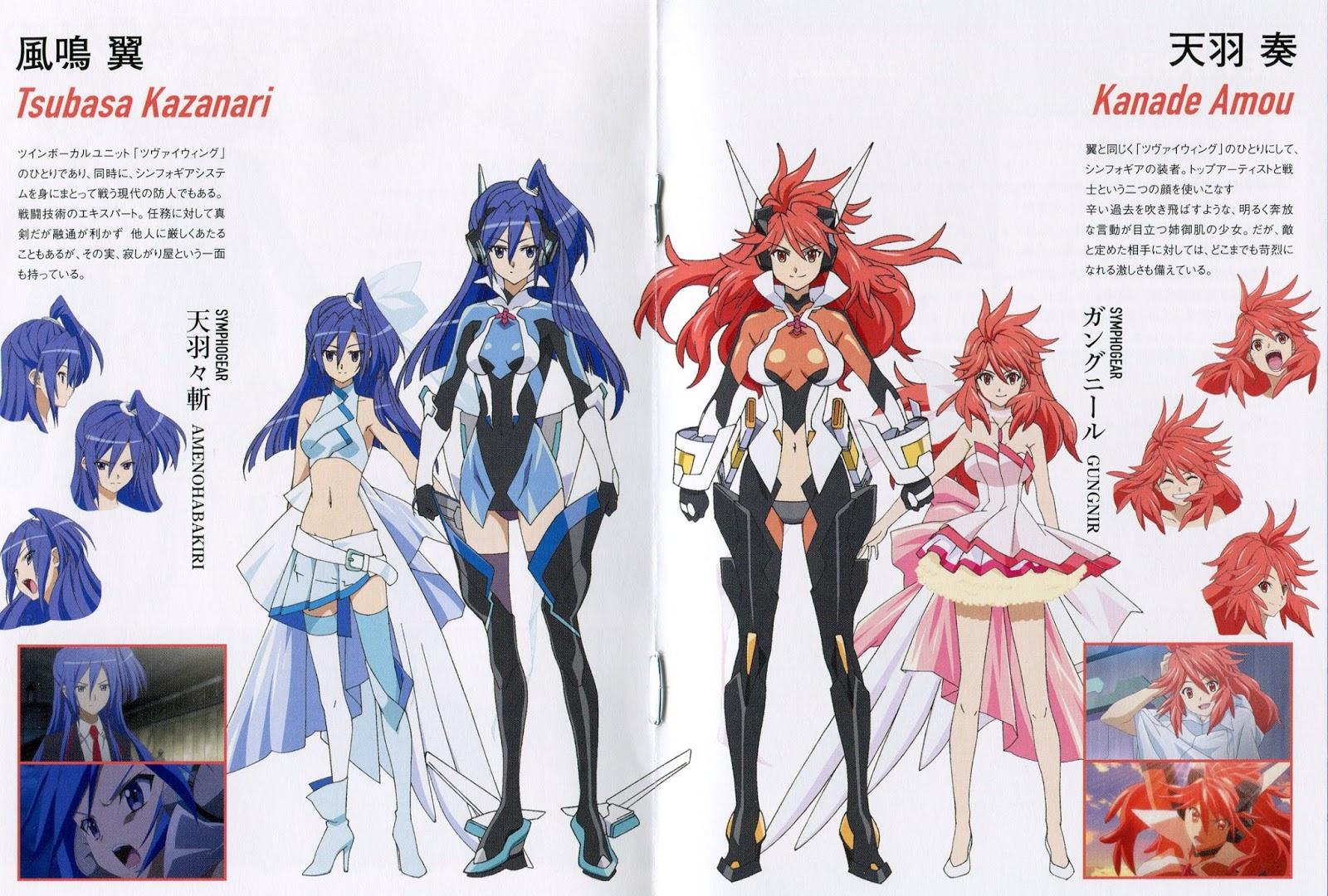 Download image Senki Zesshou Symphogear Tsubasa PC, Android, iPhone