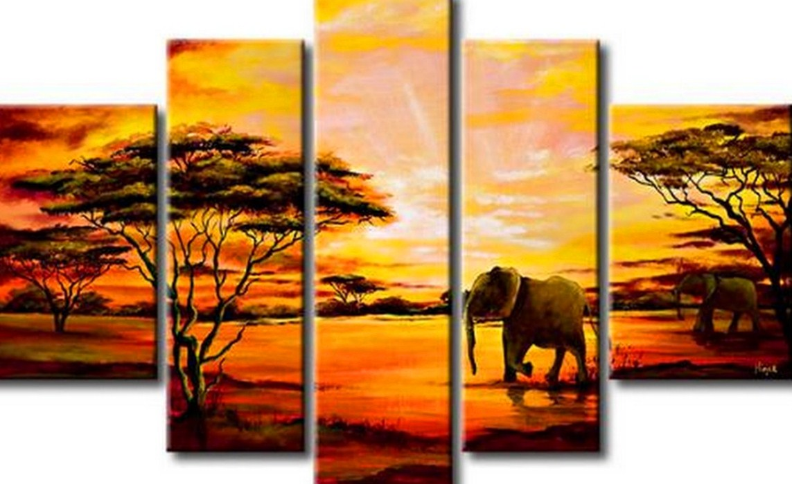 Im genes arte pinturas paisajes modernos decorativos - Cuadros de interiores ...