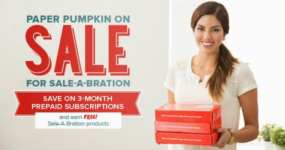PAPER PUMPKIN KITS STRAIGHT TO YOUR DOOR...