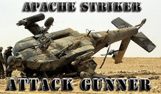 Screenshots of the Apache striker: Attack gunner for Android tablet, phone.