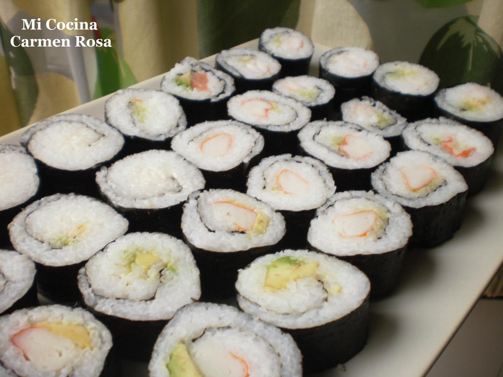 Mi cocina como preparar arroz para hacer sushi y preparar for Como hacer arroz para sushi