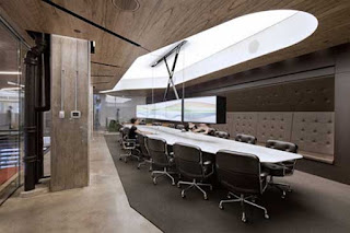 Interior Design For Office From Wooden