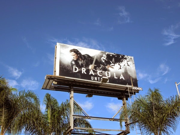 Dracula Untold billboard