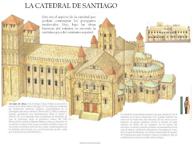Arel arte arquitectura rom nica - Santiago de compostela arquitectura ...