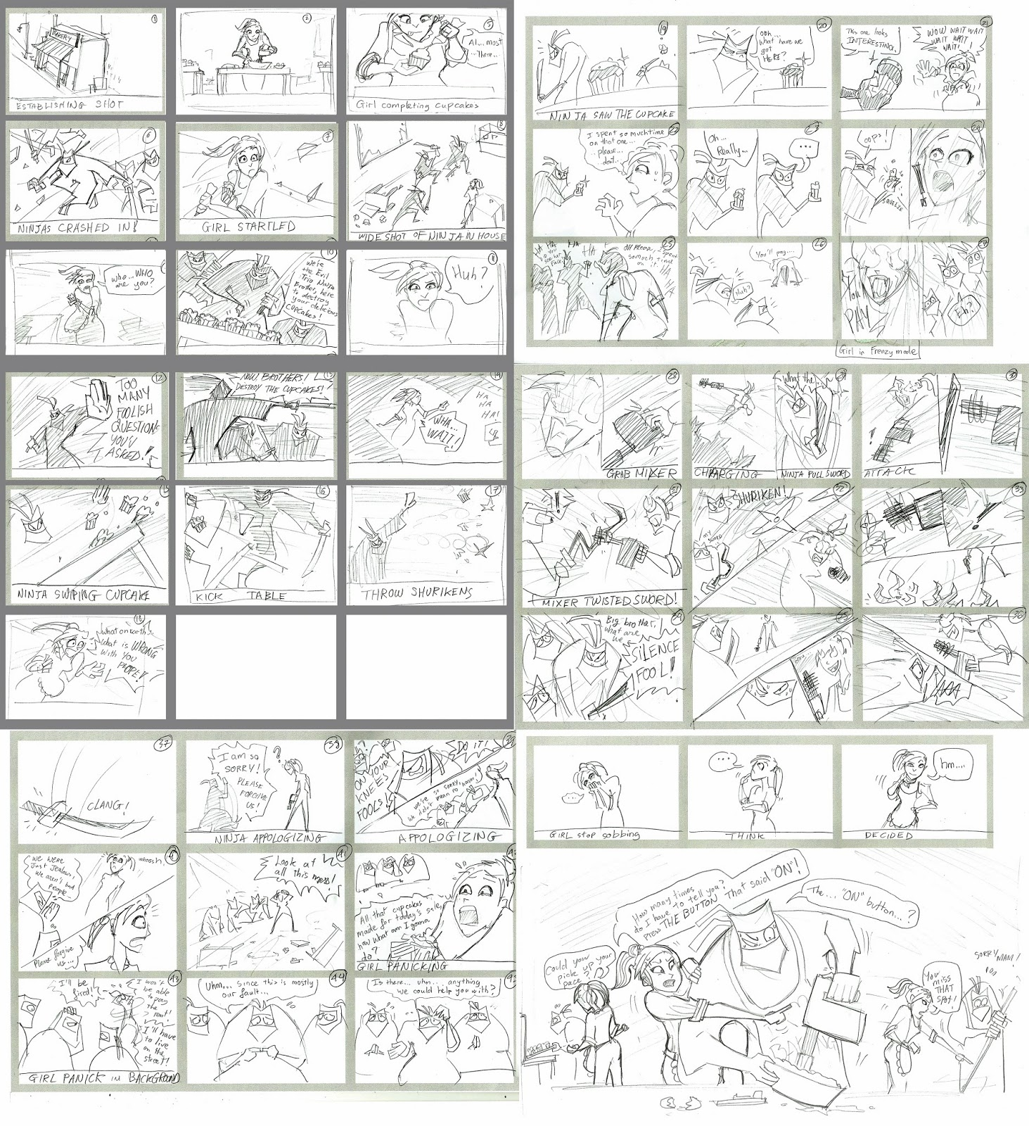 incroyable PANASONIC - CAMPUS Magazine comic / Storyboard