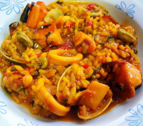 Cocinando con lady master future arroz con calamares - Robot de cocina lady gourmet ...