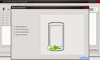 Proses Flashing Sony xperia L