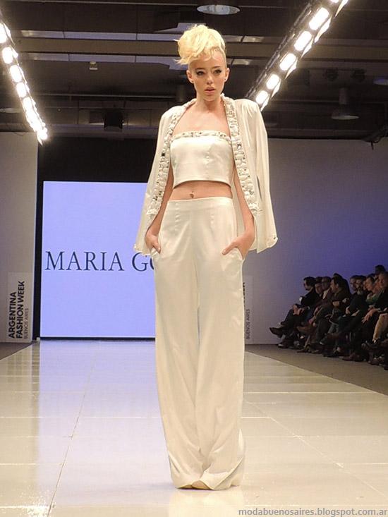 María Garof primavera verano 2015 vestidos. Moda primavera verano 2015.