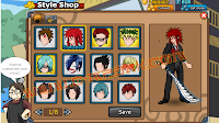 Cheat Ninja Saga - HairStyle Hack March