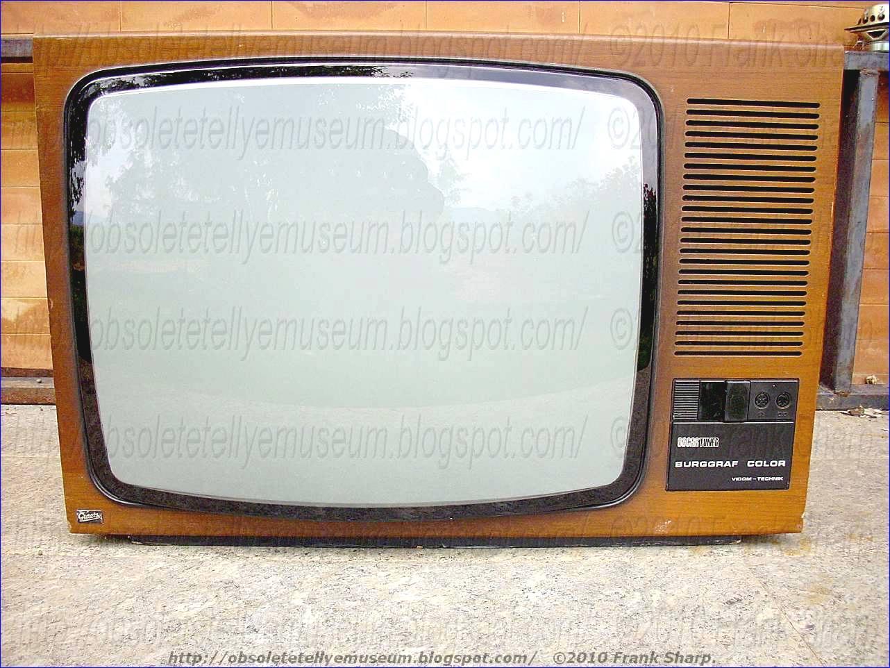 Obsolete Technology Tellye !: GRAETZ BURGGRAF COLOR 2749B ...