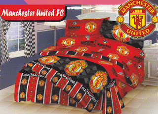 Sprei Love Story Manchester United FC
