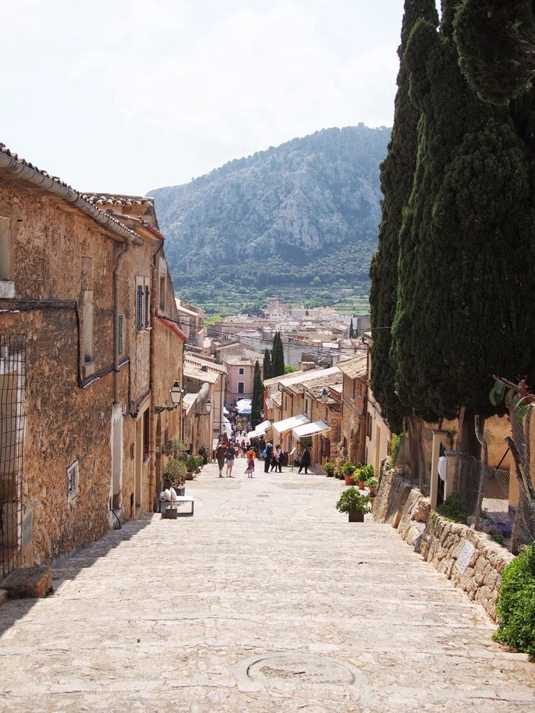 pollenca village