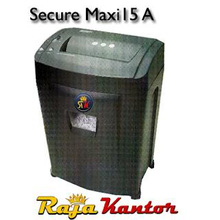 Mesin Penghancur Kertas Secure Maxi 15 A