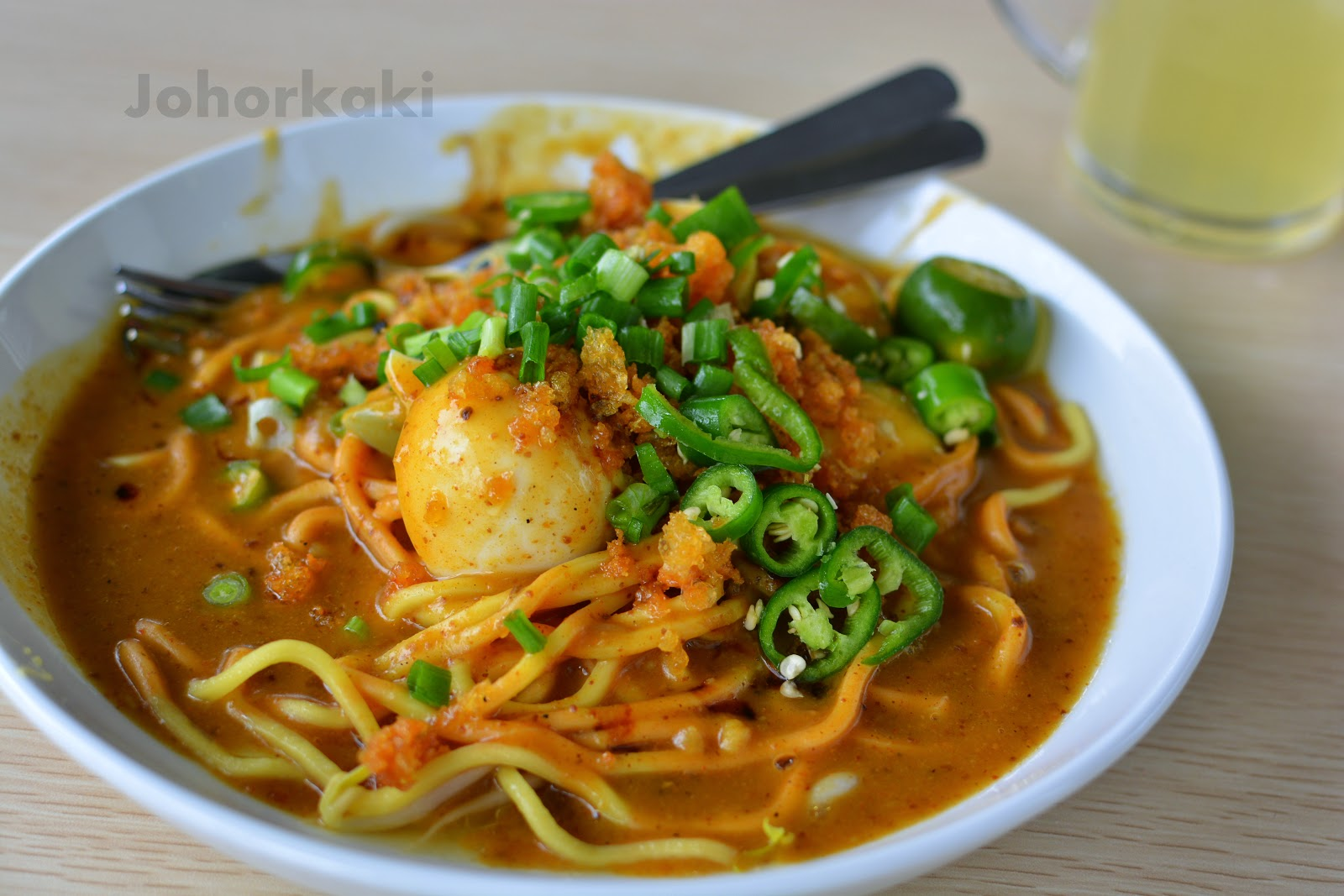 Johor Mee Rebus Hj Wahid at Zainal Place in JB Malaysia |FiND DiNiNG ...