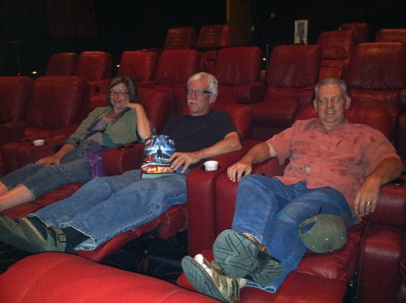 Movie with friends...comfy AMC theatre seats | Gratitude Through ...